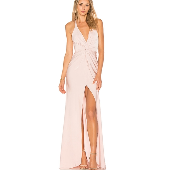 NWT Revolve Lovers + Friends Xael Gown Maxi Dress